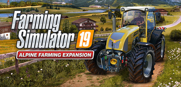 Farming Simulator 19 - Alpine Farming Expansion (Steam) - Cover / Packshot