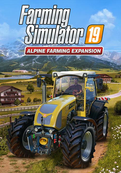 Farming Simulator 19 - Alpine Farming Expansion (Steam) - Cover / Packshot