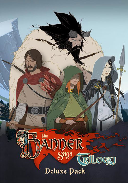Banner Saga Trilogy - Deluxe Pack - Cover / Packshot