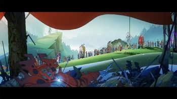 Screenshot2 - Banner Saga Trilogy - Deluxe Pack