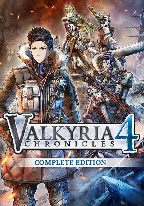 Valkyria Chronicles 4 - Cover