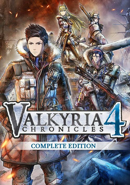 Valkyria Chronicles 4 - Cover