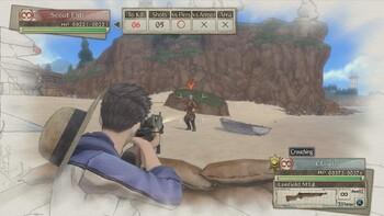 Screenshot2 - Valkyria Chronicles 4 - Squad E, to the Beach!