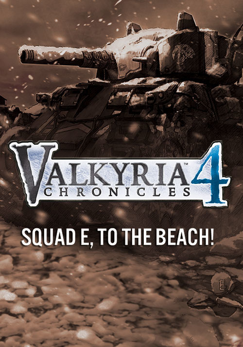 Valkyria Chronicles 4 - Squad E, to the Beach! - Cover