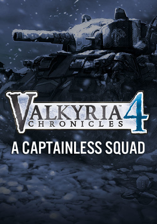 Valkyria Chronicles 4 - A Captainless Squad - Cover / Packshot