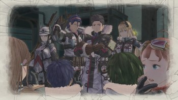 Screenshot1 - Valkyria Chronicles 4 - A Captainless Squad