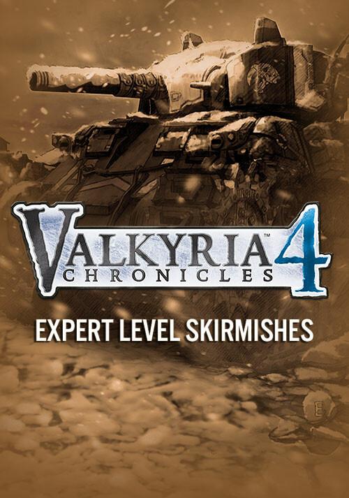 Valkyria Chronicles 4 - Expert Level Skirmishes - Cover / Packshot
