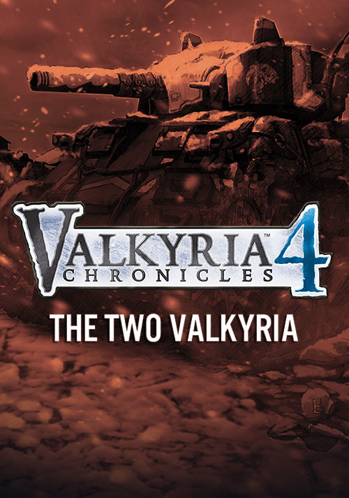 Valkyria Chronicles 4 - The Two Valkyria - Cover