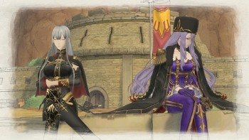 Screenshot1 - Valkyria Chronicles 4 - The Two Valkyria