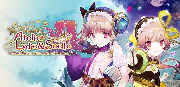Atelier Lydie & Suelle ~The Alchemists and the Mysterious Paintings~ - Cover / Packshot