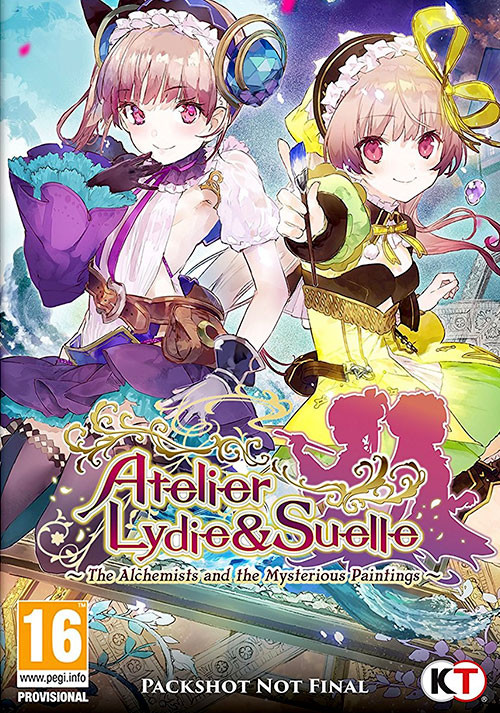 Atelier Lydie & Suelle ~The Alchemists and the Mysterious Paintings~ - Cover