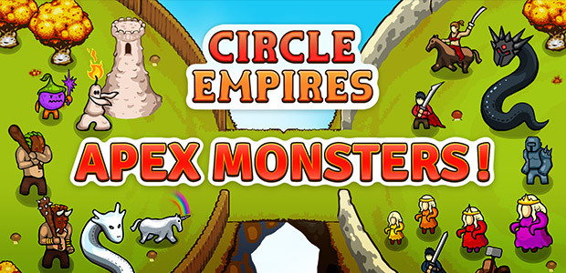 Circle Empires: Apex Monsters! - Cover / Packshot
