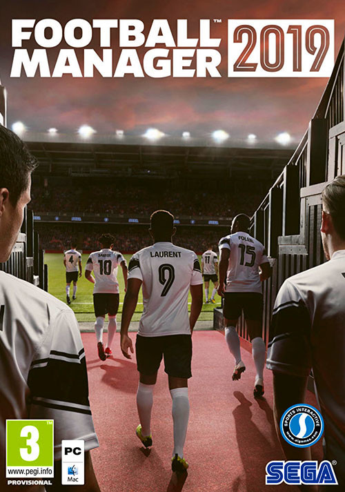 Football Manager 2019 - Cover / Packshot