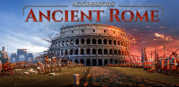 Aggressors: Ancient Rome - Cover / Packshot