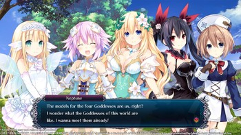 Screenshot3 - Cyberdimension Neptunia: 4 Goddesses Online - Deluxe Pack