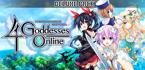 Cyberdimension Neptunia: 4 Goddesses Online - Deluxe Pack - Cover / Packshot