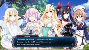Screenshot3 - Cyberdimension Neptunia: 4 Goddesses Online - Deluxe Pack