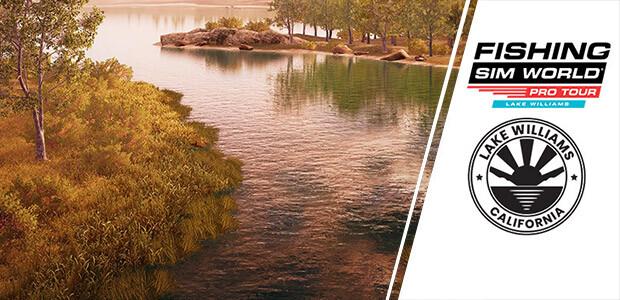 Fishing Sim World®: Pro Tour - Lake Williams - Cover / Packshot