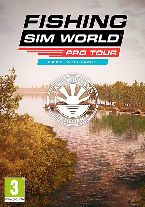 Fishing Sim World®: Pro Tour - Lake Williams - Cover / Packshot