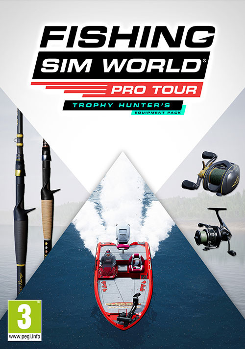 Fishing Sim World®: Pro Tour - Trophy Hunter's Equipment Pack - Cover / Packshot