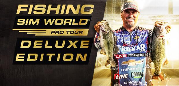 Fishing Sim World®: Pro Tour Deluxe - Cover / Packshot