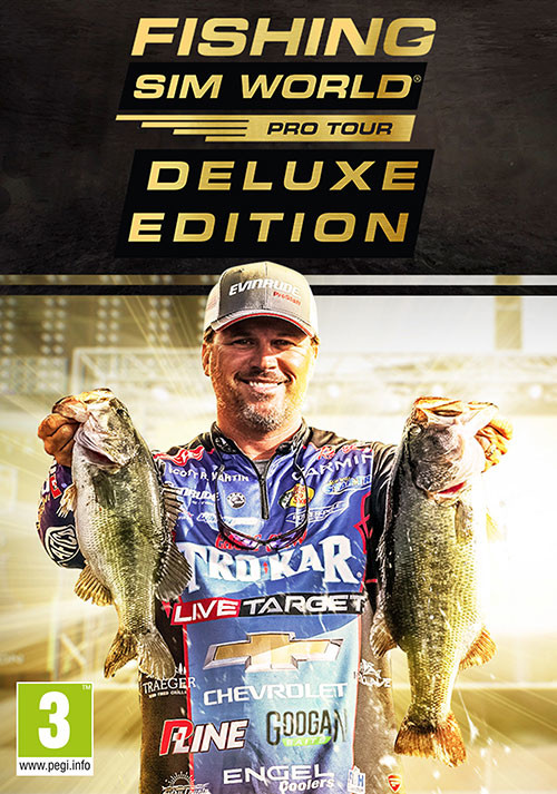 Fishing Sim World Deluxe Edition - Cover
