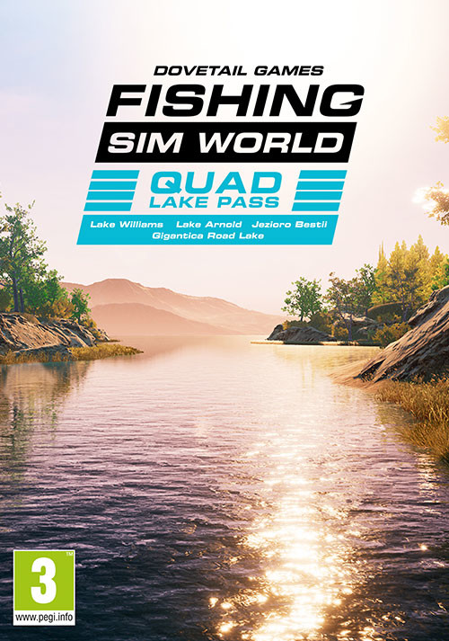 Fishing Sim World: Quad Lake Pass - Cover