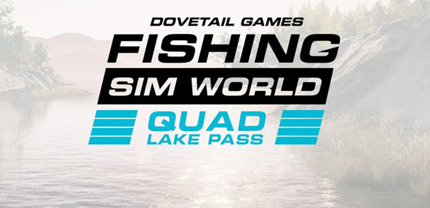 Fishing Sim World: Quad Lake Pass - Cover / Packshot