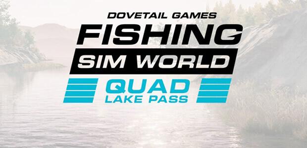 Fishing Sim World: Quad Lake Pass - Cover / Packshot