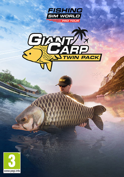 Fishing Sim World®: Pro Tour - Giant Carp Pack - Cover / Packshot