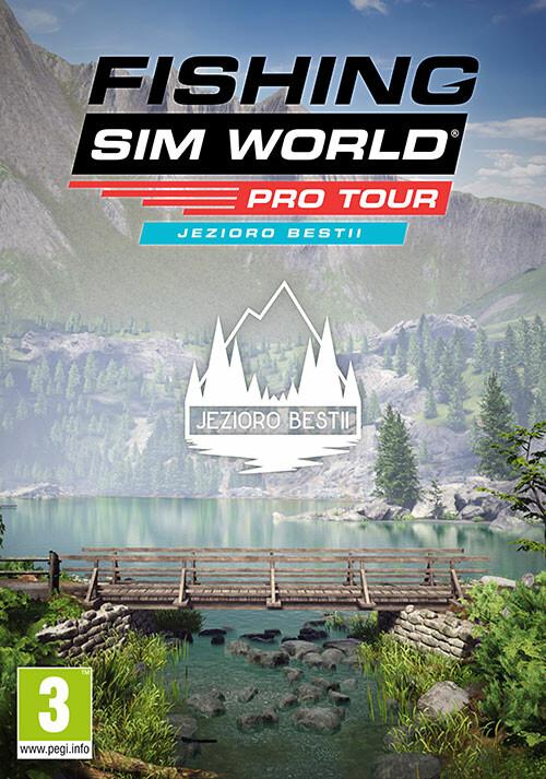 Fishing Sim World®: Pro Tour - Jezioro Bestii - Cover / Packshot
