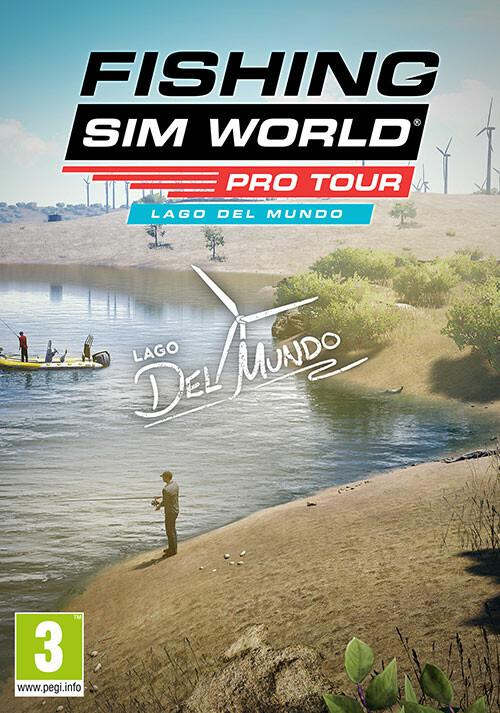 Fishing Sim World®: Pro Tour - Lago Del Mundo - Cover / Packshot