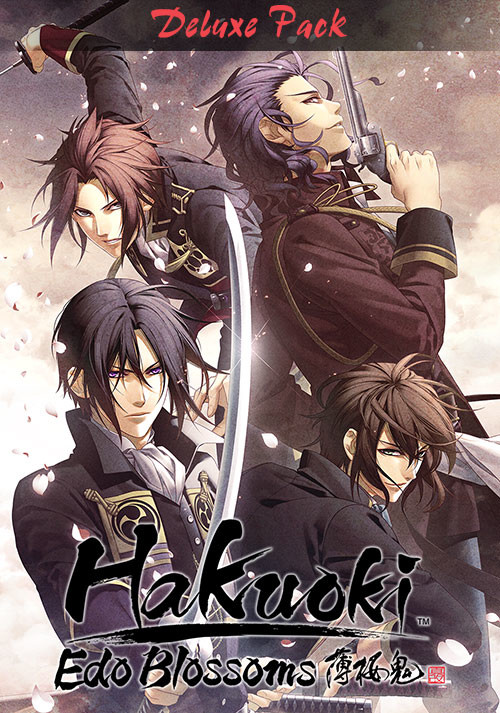 Hakuoki: Edo Blossoms - Deluxe Pack - Cover / Packshot