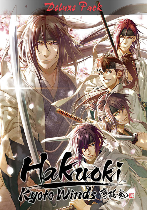 Hakuoki: Kyoto Winds Deluxe Pack - Cover