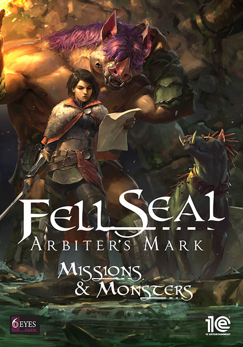 Fell Seal: Arbiter's Mark - Missions and Monsters - Cover / Packshot