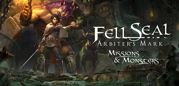 Fell Seal: Arbiter's Mark - Missions and Monsters - Cover / Packshot