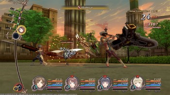 Screenshot1 - Dark Rose Valkyrie