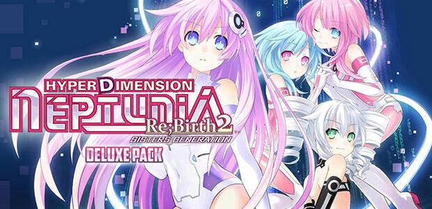 Hyperdimension Neptunia Re;Birth2 Deluxe Pack - Cover / Packshot