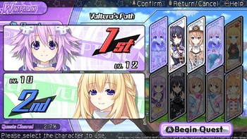 Screenshot6 - Hyperdimension Neptunia U: Action Unleashed