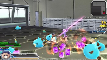 Screenshot3 - MegaTagmension Blanc + Neptune VS Zombies (Neptunia)