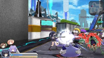 Screenshot5 - MegaTagmension Blanc + Neptune VS Zombies (Neptunia)
