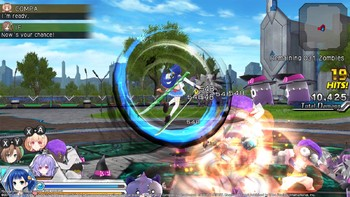 Screenshot1 - MegaTagmension Blanc + Neptune VS Zombies (Neptunia)