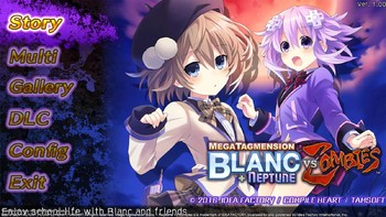 Screenshot2 - MegaTagmension Blanc + Neptune VS Zombies (Neptunia)