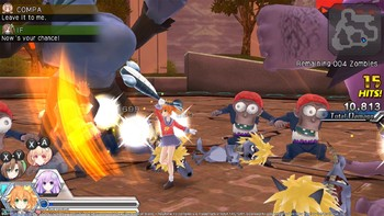 Screenshot7 - MegaTagmension Blanc + Neptune VS Zombies (Neptunia)