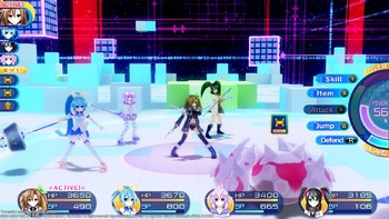 Screenshot2 - Superdimension Neptune VS Sega Hard Girls