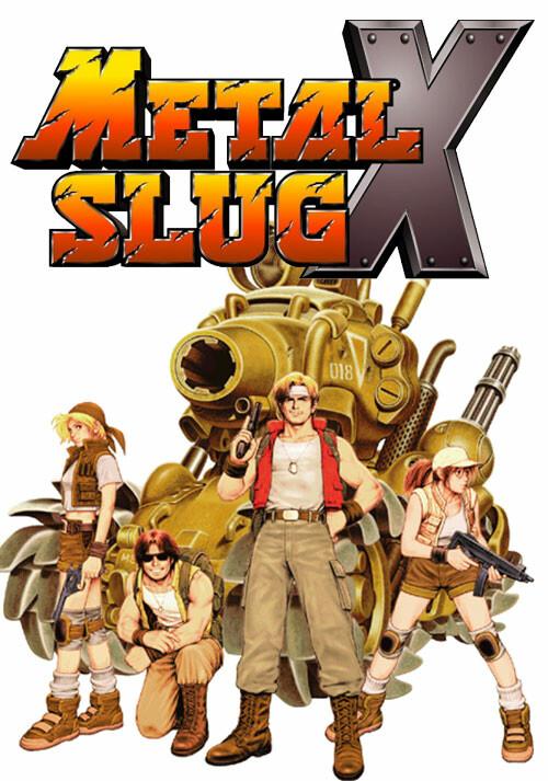 METAL SLUG X - Cover