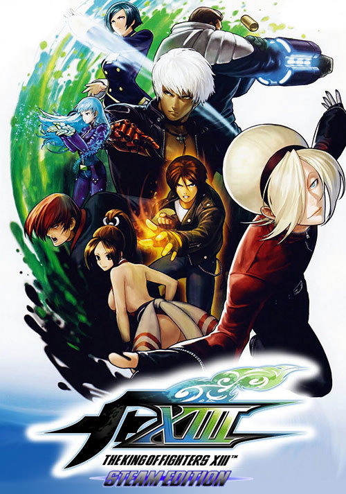 THE KING OF FIGHTERS XIII STEAM EDITION - Cover
