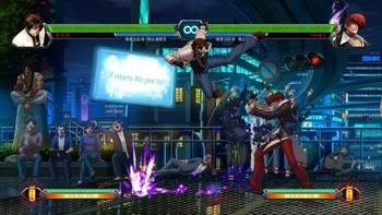 Screenshot1 - THE KING OF FIGHTERS XIII STEAM EDITION