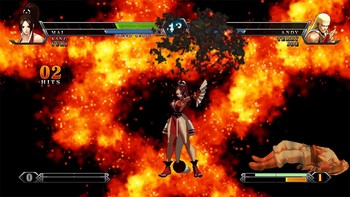Screenshot8 - THE KING OF FIGHTERS XIII STEAM EDITION