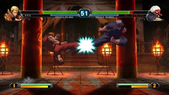 Screenshot2 - THE KING OF FIGHTERS XIII STEAM EDITION
